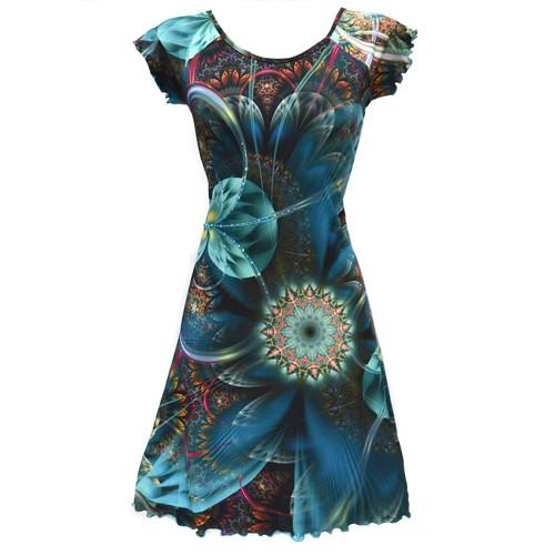 Letní šaty MIRACLE s kamínky - vel. 36 až 48