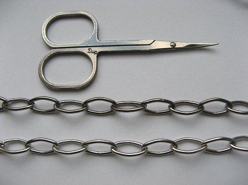 Řetízek C 15 - rhodiovaný - 50 cm