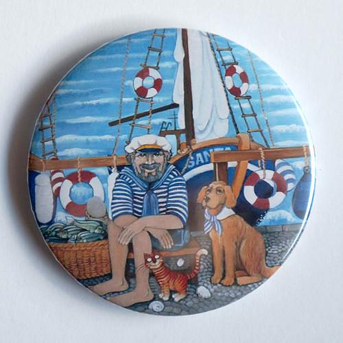Námořník -magnet 76