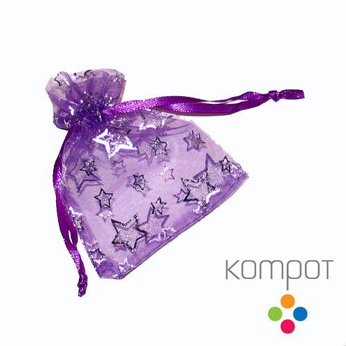 Dárkový pytlíček - fialový