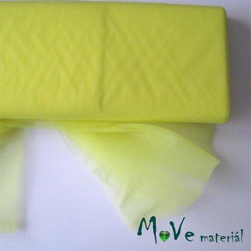 svatební tyl jemný citrónově žlutý 50 cm/ š280 cm