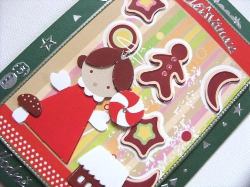 Blahopřání plné vánočního cukroví - moderní