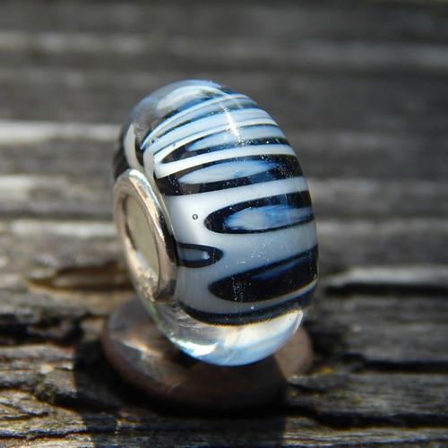 Zebří 2  Ag925/1000 + sklo