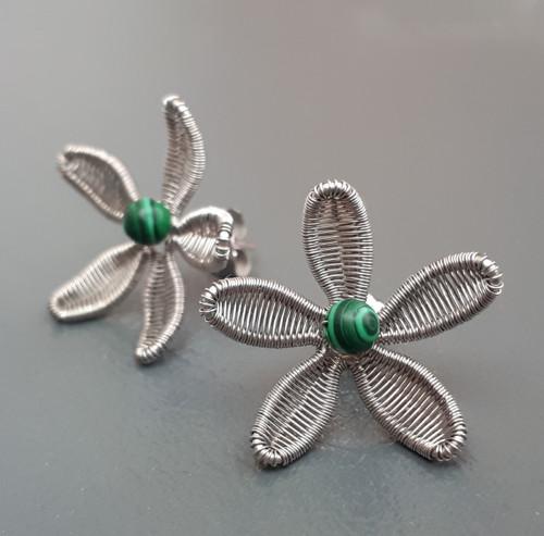 Malachitový květ