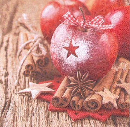 Ubrousek - hvězda na jablíčku