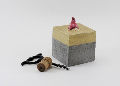 Trpaslík Kastebel v betonu #218