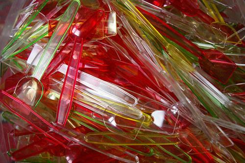 Plastové lžičky vhodné k zalévání pryskyřice 50ks
