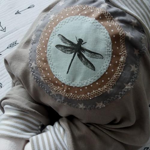 turky (0-6 měs.) - vážky - béžové #2