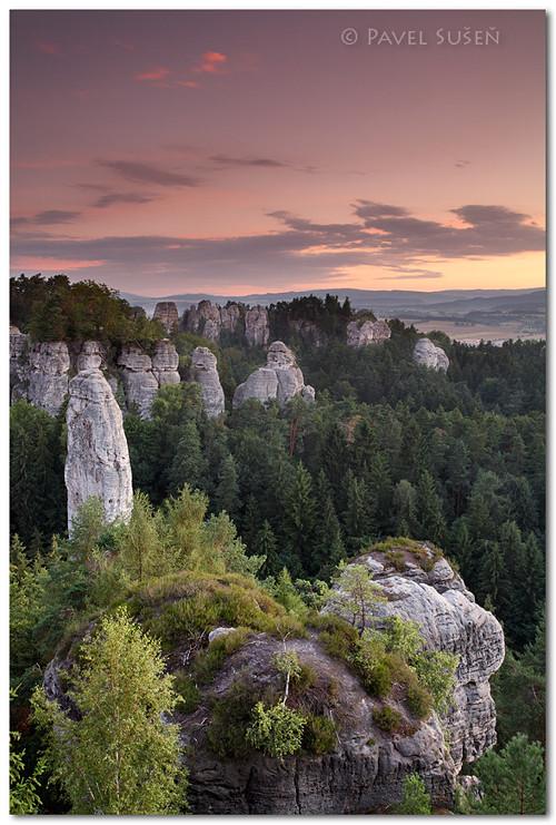 Český ráj - Vyhlídka na Kapelu