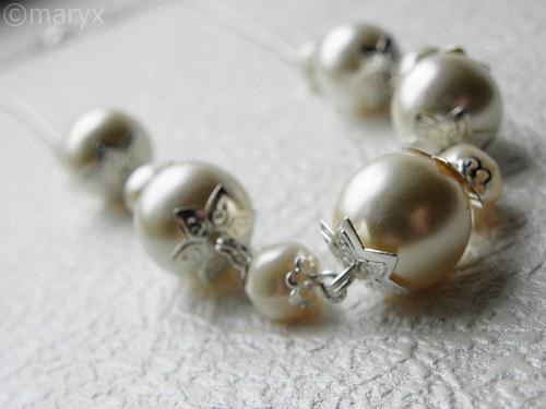 Perlový náhrdelník SLEVA ze 69kč