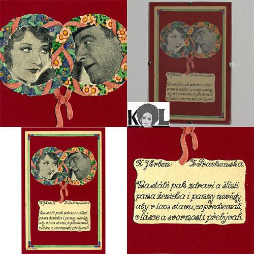 přání /Pro pana ženicha a pannu nevěstu/ VÝPRODEJ!