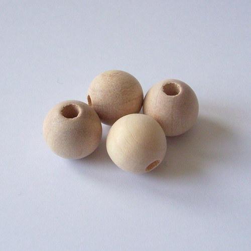 Dřevěná kulička surová pr. 12 mm