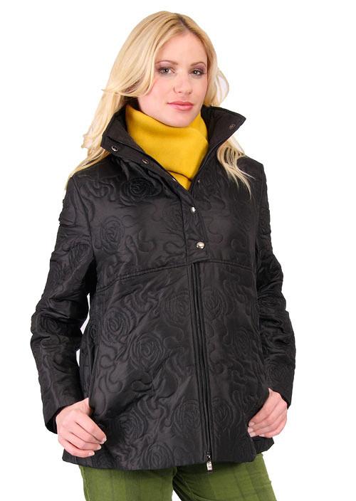 Těhotenská bunda Mouzon - černá 0089