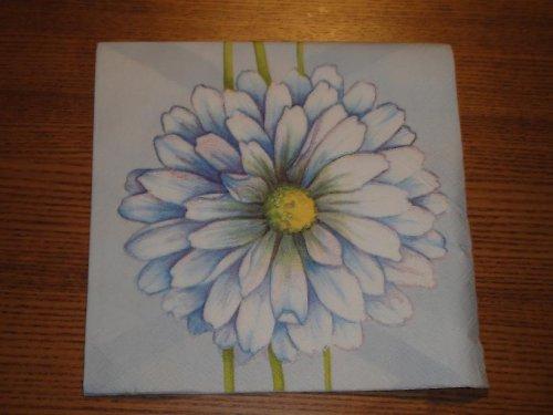 Ubrousek na decoupage - květina