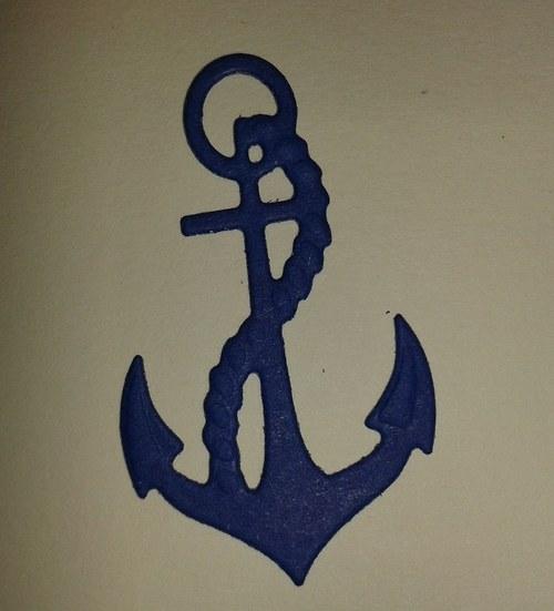 Kotva - námořnická modrá