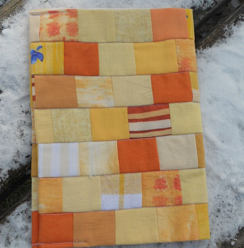 sluníčkový obal na knihu - Výprodej sleva 80 Kč