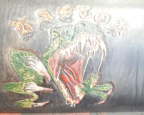 Kožený kryt na tříkolku Raptor