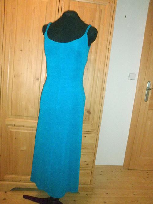 Elastické šaty s bolerkem 549 - vel. 38