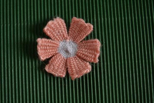 Broskvová kytička