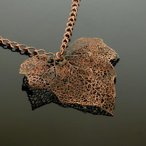 Hedera * břečťanový talisman XXL * náhrdelník