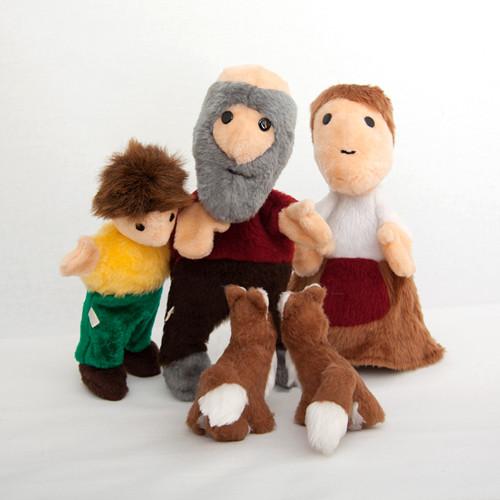Pohádka o Budulínkovi - autorská hračka