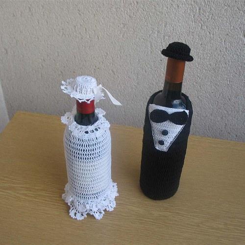 Ozdoby na láhve