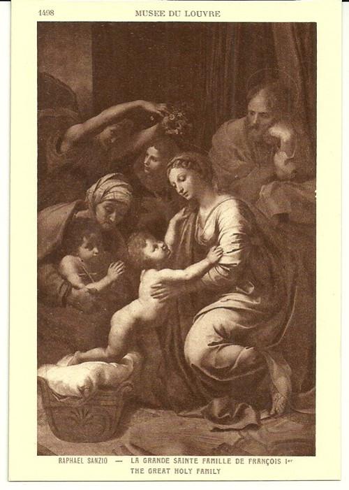Umělecká pohlednice Raphael Sanzio