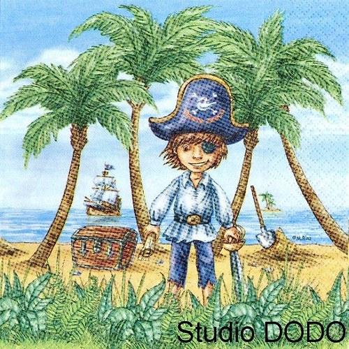 Ubrousek Kluk pirátem