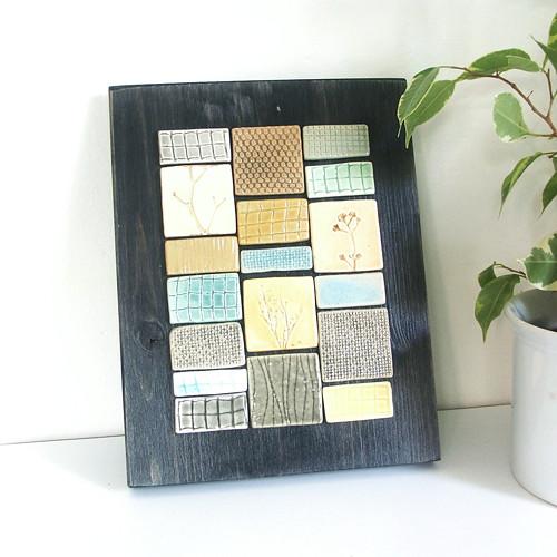 Keramický patchwork XIV