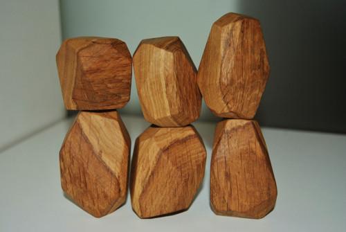 Dubové balanční kameny