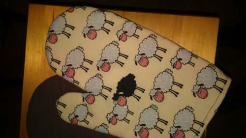 chňapka a ovečky