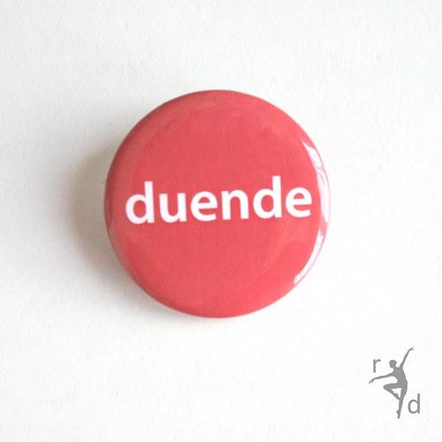 Placka DUENDE (Odznak) - Doprodej
