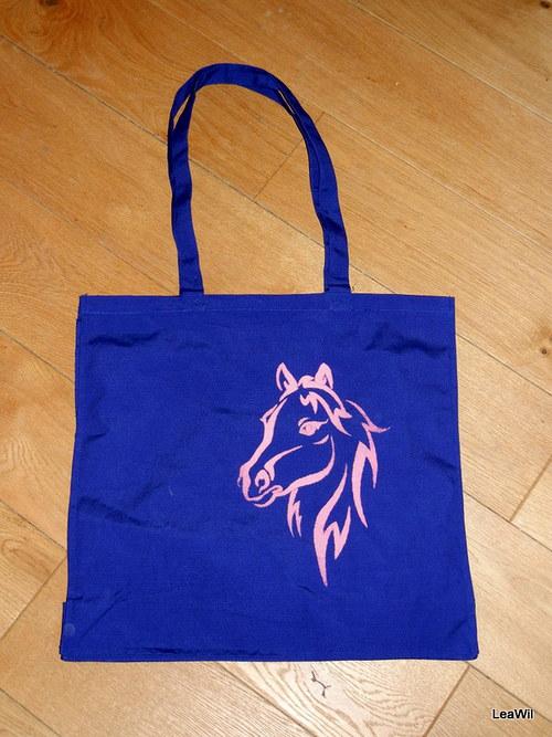 Taška nákupní kůň