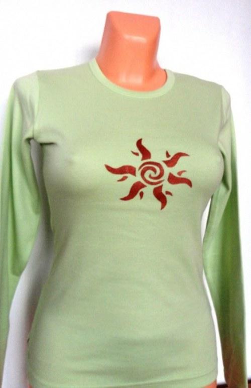 Tričko dámské Sluneční spirálka