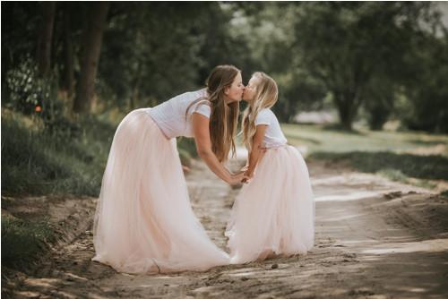 tutu sukně na přání - maminka a dcera