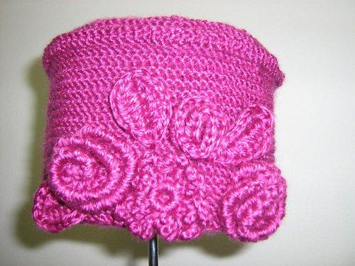 Růžová čepice TOKKA