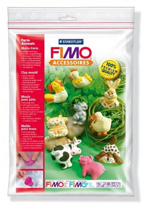 Formy na Fimo / silikonové / Zvířátka ze statku