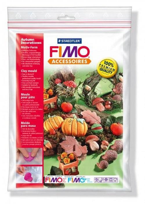 Formy na Fimo / silikonové / Podzimní motivy