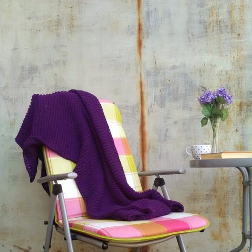 lehká měkkoučká deka 120x170cm fialová