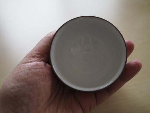 MISKA čajová - režná tmavá maličká