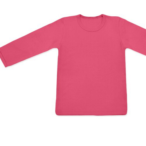 Dětské tričko UNI DR lososově růžové