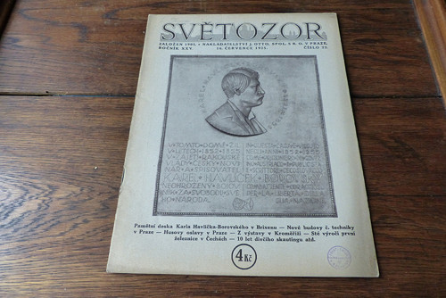 Časopis Světozor 22/1925
