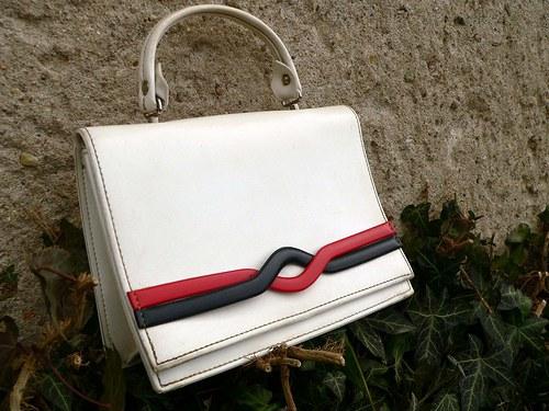 Koženková vintage kabelka 16