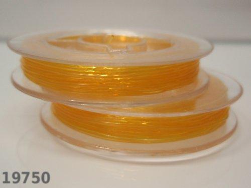 19750-B04 Elastické lanko lycra o,6/10m tm.žluté