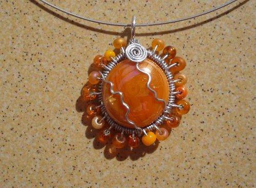 oranžové sluníčko