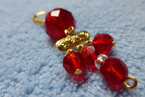 Rudé ohňovky ve zlatě