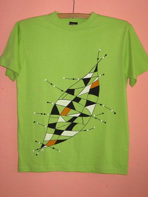 ZAJÍMAVÝ LIST (158) - dětské tričko