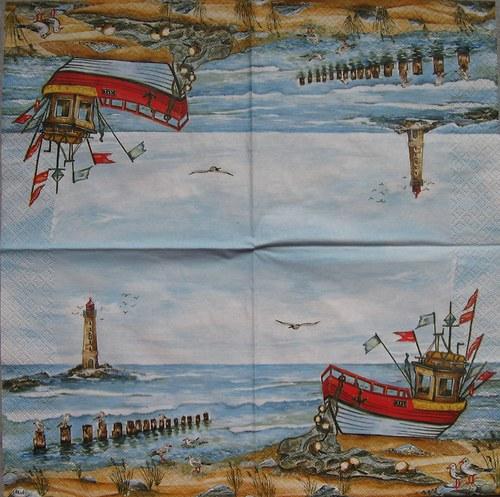 Rybářská bárka č. 1697