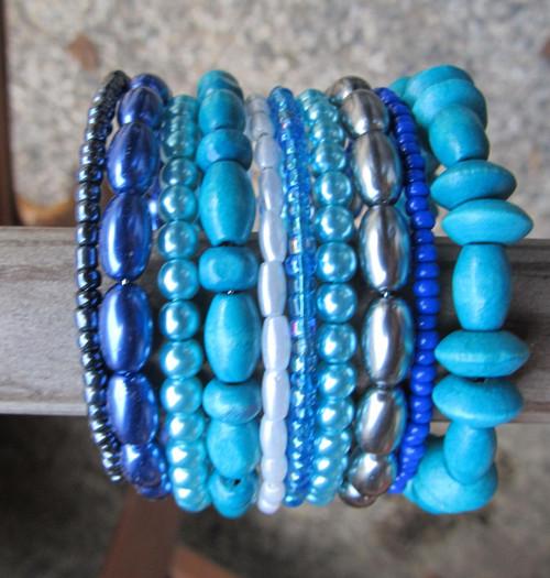 Náramek - Modrá je dobrá a ještě něco navíc