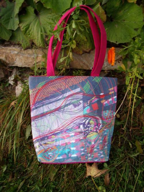 kabelka organzová podzim2